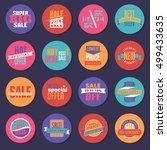 discount | Shutterstock .eps vector #499433635