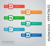 vector infographics template   Shutterstock .eps vector #499478632