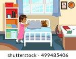 a vector illustration of a... | Shutterstock .eps vector #499485406