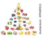 fresh fruit | Shutterstock . vector #499489012