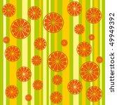 citrus seamless vector pattern | Shutterstock .eps vector #49949392
