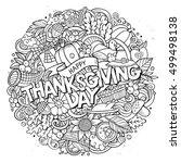 cartoon cute doodles hand drawn ...   Shutterstock .eps vector #499498138