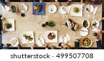 food catering cuisine culinary... | Shutterstock . vector #499507708