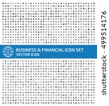 business and finance icon set... | Shutterstock .eps vector #499514176