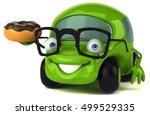fun car   3d illustration | Shutterstock . vector #499529335