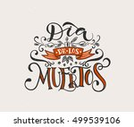 day of the dead vector... | Shutterstock .eps vector #499539106