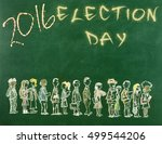 election day   Shutterstock . vector #499544206