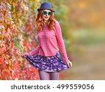 Fall Fashion. Fashion Model...