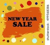sale badge  discount banner | Shutterstock .eps vector #499568386