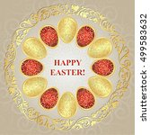 Greeting Card Happy Easter Wit...