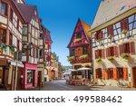 town of colmar   Shutterstock . vector #499588462