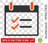 vector check items calendar day ...