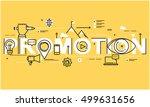 flat line business vector... | Shutterstock .eps vector #499631656