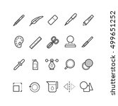 drawing  design tools vector...