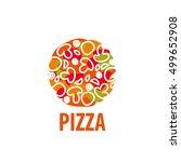 pizza vector logo | Shutterstock .eps vector #499652908
