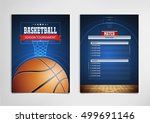 basketball tournament  modern... | Shutterstock .eps vector #499691146