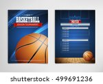 basketball tournament  modern... | Shutterstock .eps vector #499691236