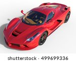 sports car front view. the... | Shutterstock . vector #499699336