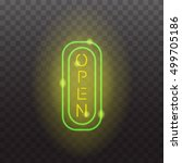 Glowing Neon Light Signs...