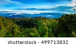 mountainous tropical forest... | Shutterstock . vector #499713832