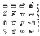 credit card icons . vector...