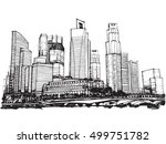 freehand sketch vector... | Shutterstock .eps vector #499751782