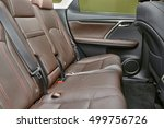 car interior with leather seats | Shutterstock . vector #499756726