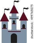 castle symbol | Shutterstock .eps vector #499765075