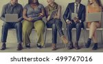 diverse group of people... | Shutterstock . vector #499767016