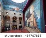 figueres  spain   january 03 ... | Shutterstock . vector #499767895