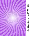 Rotating Purple Background Rays