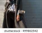 ultra fashion concept. young... | Shutterstock . vector #499802542