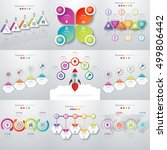 vector illustration infographic ... | Shutterstock .eps vector #499806442