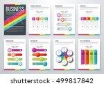 infographic vector set.... | Shutterstock .eps vector #499817842