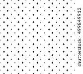 abstract poker background | Shutterstock .eps vector #499849912