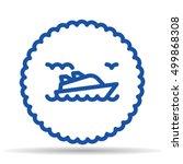 cruise logo | Shutterstock .eps vector #499868308