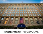 Small photo of The Department of Veterans Affairs Building, in Washington, DC.