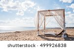 White Beach Canopies. Luxury...