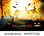 halloween.  | Shutterstock .eps vector #499927156
