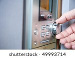 hand controlling  volume of a... | Shutterstock . vector #49993714