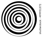 concentric circles w dynamic... | Shutterstock .eps vector #499951372