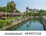 Small photo of Antalya , Turkey, September 15, 2016: Turkish town of Finike. Acis River (Acisu), beautiful landscape . Antalya, Turkey, September 15, 2016