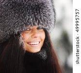 winter women close up portrait | Shutterstock . vector #49995757