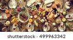 thanksgiving celebration... | Shutterstock . vector #499963342