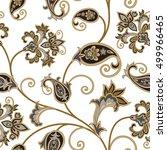 floral pattern. flourish... | Shutterstock .eps vector #499966465