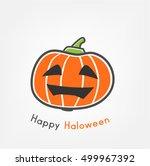 pumpkin | Shutterstock .eps vector #499967392