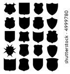 shield  vector  | Shutterstock .eps vector #4999780