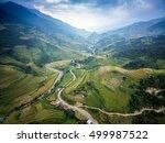 mountain road in beautiful... | Shutterstock . vector #499987522