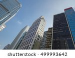 building in hong kong city ... | Shutterstock . vector #499993642