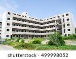 abandoned urban building in...   Shutterstock . vector #499998052
